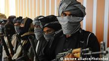 Afghanistan Symbolbild Taliban-Kämpfer