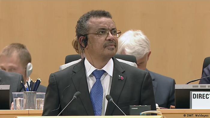 Tedros Adhanom Ghebreyesus ehem. Außenminister Äthiopien