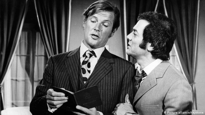 Roger Moore and Tony Curtis in The Persuaders, 1972 (Picture alliance/Keystone)