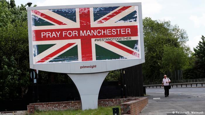 UK Manchester nach dem Anschlag