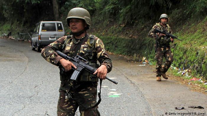 Philippinen Soldaten in der Nähe von Marawi ARCHIV