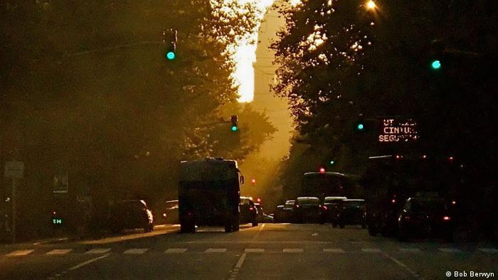 Diesel fumes from a Buenos Aires bus (Bob Berwyn)