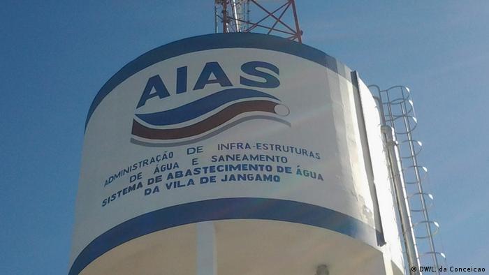 Wasserversorgungssystem in Inhambane Öffnung