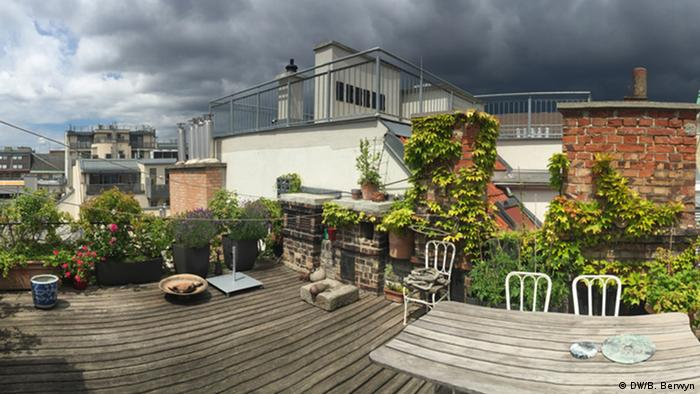 Rooftop garden in Vienna (DW/B. Berwyn)