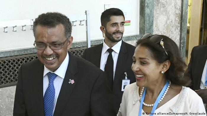 Tedros Adhanom Ghebreyesus (Picture alliance/Zumapress/A. Grosclaude)