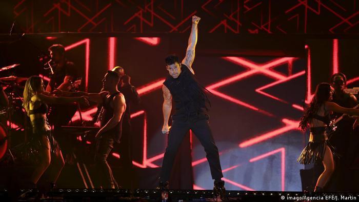 Spanien | Ricky Martin Konzert in Madrid (imago/Agencia EFE/J. Martin)