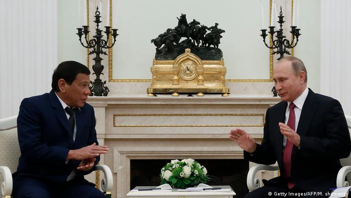 Russland | Staatsbesuch Duterte bei Putin (Getty Images/AFP/M. shemetov)