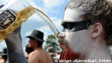 Deutschland | Bier-Pipeline für Festival in Wacken