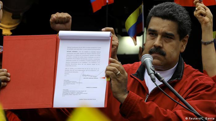 Venezuela   Präsident Maduro stellt Verfassungsreform vor