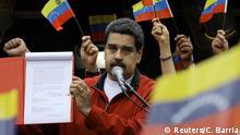 Staatschef Maduro präsentiert seine Regelungen zur Ausarbeitung der neuen Verfassung