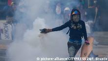 Venezuela | Proteste gegen Präsident Maduro halten an