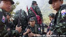 Myanmar Karen National Liberation Army (Getty Images/AFP/K.C. Ortiz)