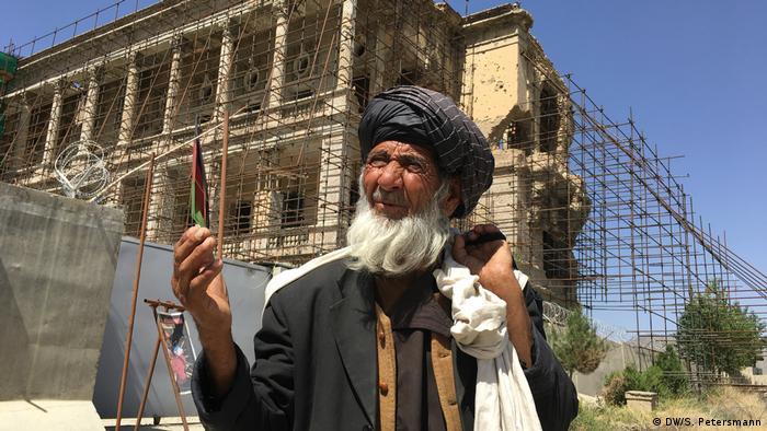 Afghanistan Königspalast Darul Aman