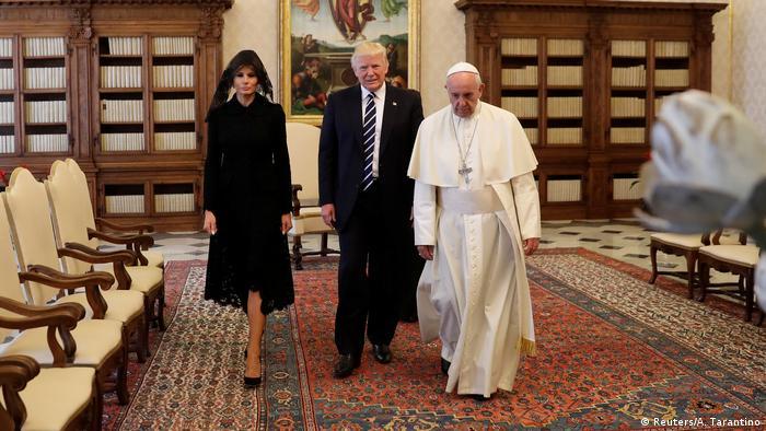 Papa Francisco recebe Trump no Vaticano