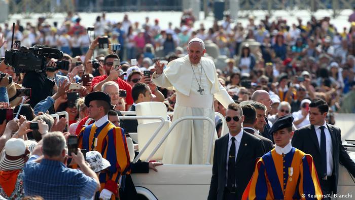 Vatikan Papst Franziskus nach Treffen mit Donald Trump