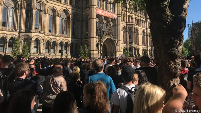 Großbritannien Manchester Gedenken