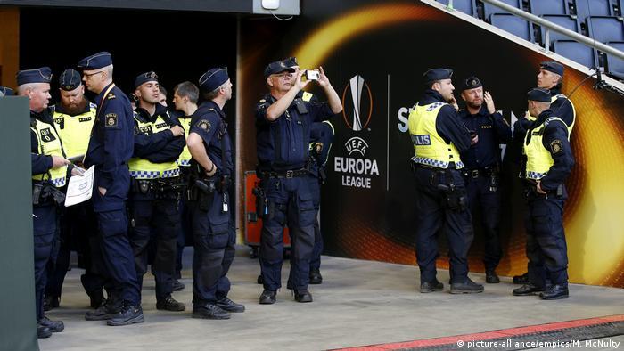 Schweden Fußball UEFA Europapokal Finale Ajax - Manchester United