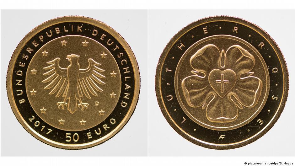 В Германии выпущена монета в 50 евро