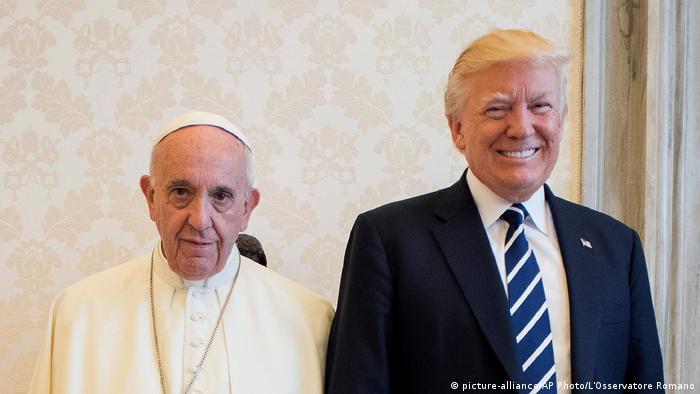 Trump Papst