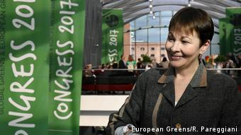 European Greens Caroline Lucas