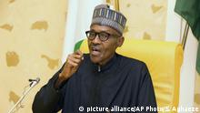 Nigeria Muhammadu Buhari (picture alliance/AP Photo/S. Aghaeze)