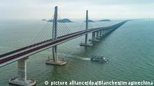 China Hongkong-Zhuhai-Macau-Brücke (picture alliance/dpa/Blanches/Imaginechina)
