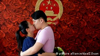 China Valentinstag 20.5. 520 (picture alliance/dpa/Z.Duan)