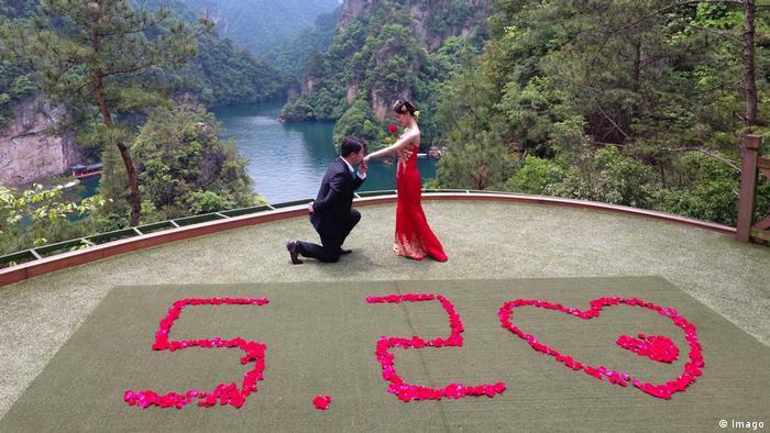 China 520 Valentinstag 20. Mai (Imago)