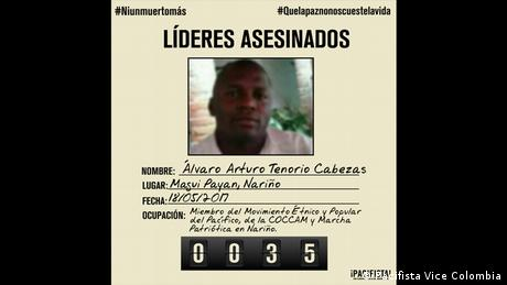 Kolumbien Kampagne gegen den Frieden (Pacifista Vice Colombia)
