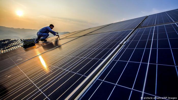 China Solarindustrie