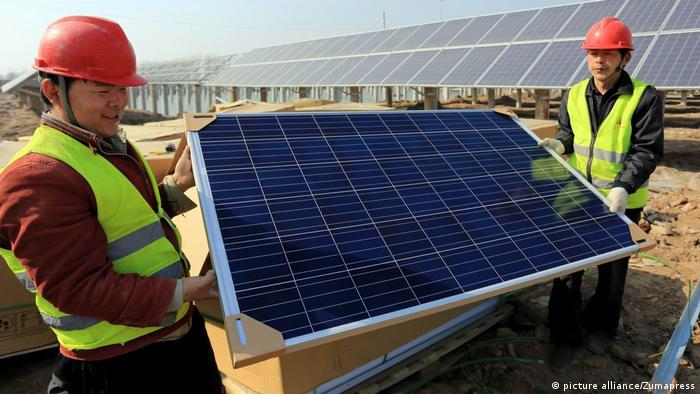 Solarindustrie in China (picture alliance/Zumapress)