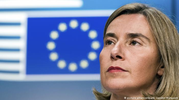 Главный дипломат ЕС Федерика Могерини получила Гессенскую премию мира