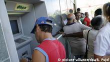 Kuba - Alltag in Havanna - Bankautomat BPA
