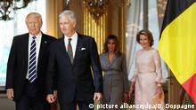 Belgien Trump in Brüssel