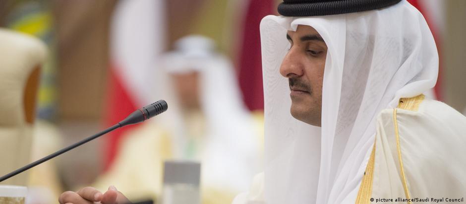 Frase atribuída ao emir do catar, o xeque Tamim bin Hamad al-Thani, iniciou a crise diplomática na região