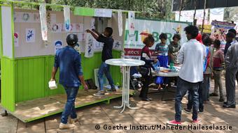 Äthiopien Veranstaltung Goethe Institut Tibeb be Adebabay – The Art Side of Addis Abeba