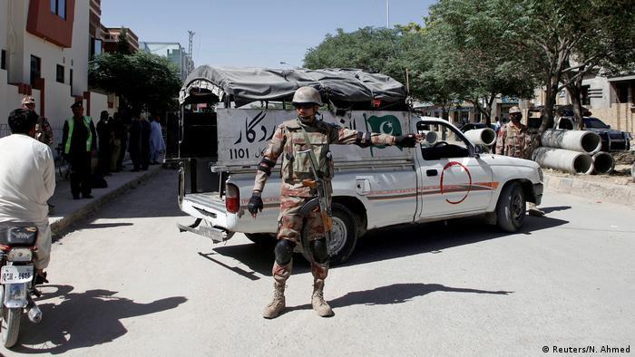Pakistan Zwei chinesische Sprachlehrer in Quetta entführt (Reuters/N. Ahmed)
