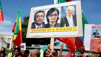 Schweiz Exil-Äthiopier protestieren gegen neuen WHO-Generaldirektor