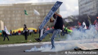 Brasilien Protest gegen Temer