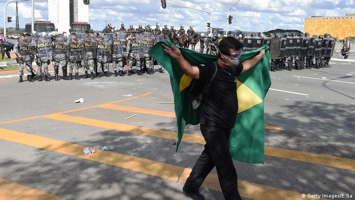 Brasilia protests Getty Images/E.Sa)