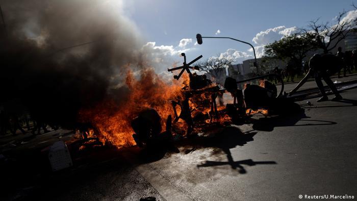 Brasilien Protest gegen Michel Temer (Reuters/U.Marcelino)
