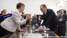 USA Washington - Brigitte Zyppries trifft US-Handelsbeauftragten Robert Lighthizer (picture alliance/dpa/FR170079 AP/C. Owen)