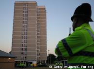 Британська поліція під час операції в Манчестері після теракту