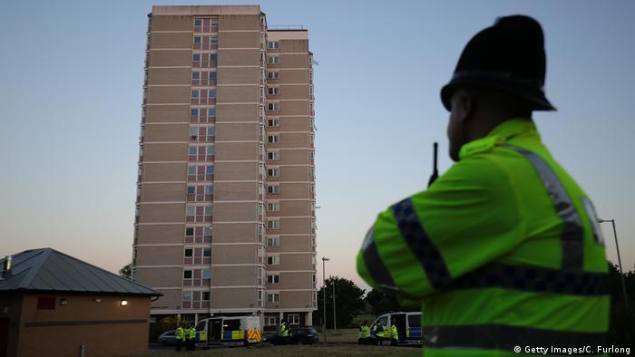 Großbritannien Manchester - Polizeiaktivität nach Terroranschlag (Getty Images/C. Furlong)