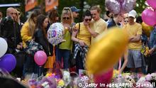 Großbritannien Manchester - Trauer nach Terroranschlag