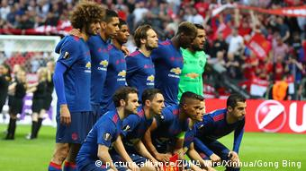 Schweden Fußball Europa League-Finale in Stockholm - Ajax Amsterdam vs. Manchester United (picture-alliance/ZUMA Wire/Xinhua/Gong Bing)
