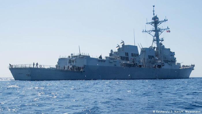Südchinesisches Meer Zerstörer USS Dewey