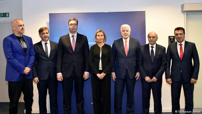 HRVP Mogherini trifft Premierminister des westlichen Balkans