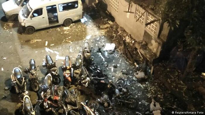 Indonesien Explosion in Jakarta (Reuters/Antara Foto)