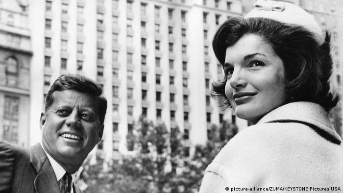 USA John F. Kennedy und Jackie Kennedy in New York (picture-alliance/ZUMA/KEYSTONE Pictures USA)